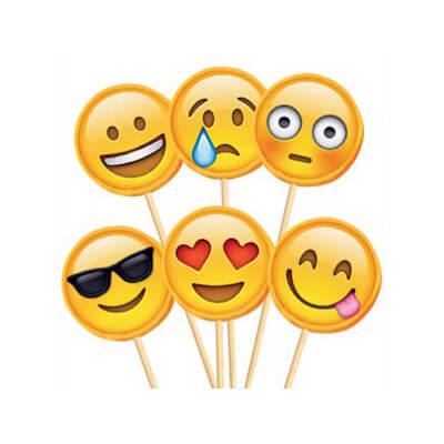 Lollipop Emoji mix 1 pezzo