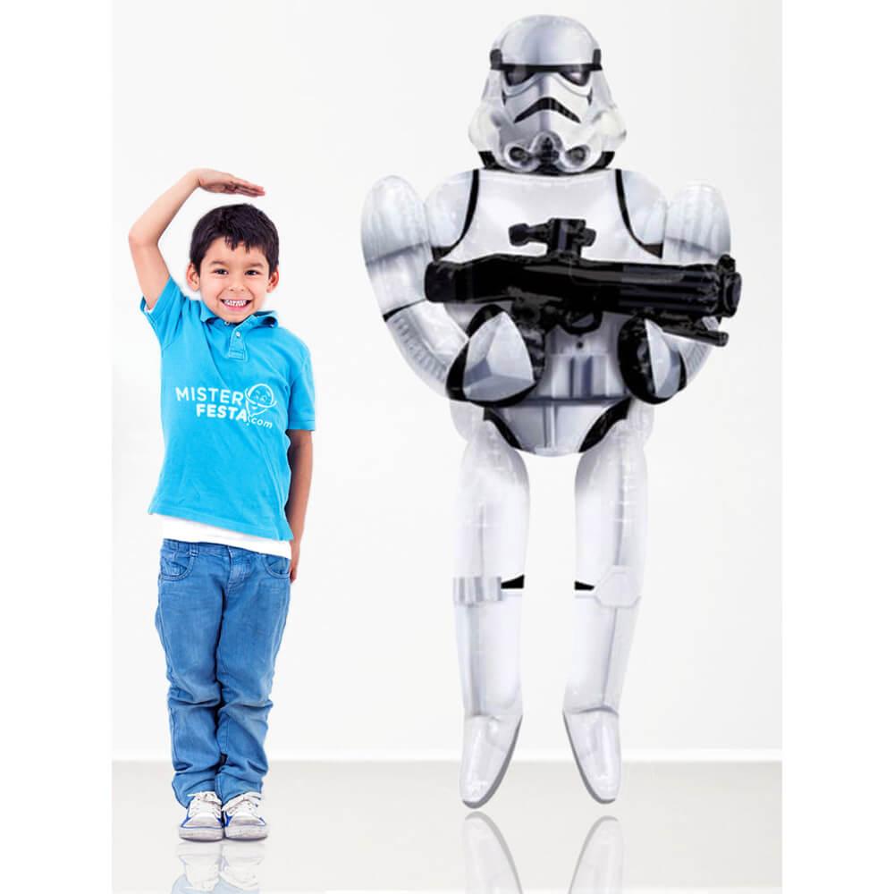 Palloncino Star Wars assaltatore mascotte AirWalkers 1 pezzo