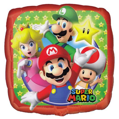 Palloncino festa Super Mario Bros 45 cm 1 pezzo