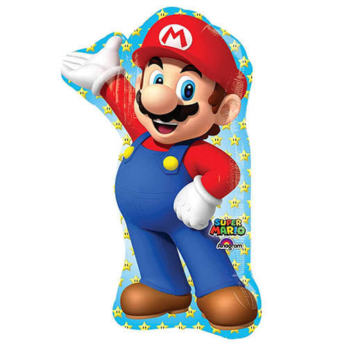 Palloncino Super Mario Bros SuperShape 1 pezzo