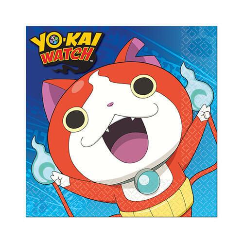 Tovaglioli Yo-kai Watch 16 pezzi