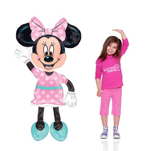 Palloncino Minnie Disney mascotte AirWalkers 1 pezzo