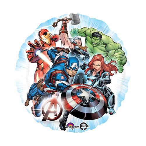Palloncino Avengers Supereroi 45 cm 1 pezzo