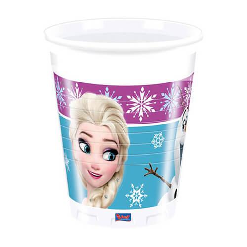 Bicchieri Frozen 8 pezzi