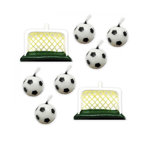 Candeline Campionato Calcio 8 pezzi