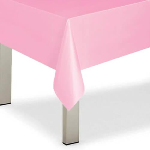 Tovaglia rosa pastello 1 pezzo