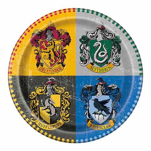 Piatti Harry Potter grandi 8 pezzi