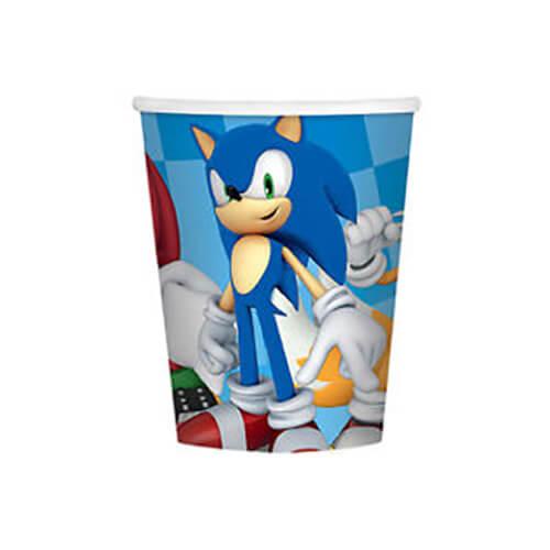 Bicchieri Sonic the Hedgehog 8 pezzi