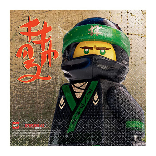 Tovaglioli Lego Ninjago 16 pezzi
