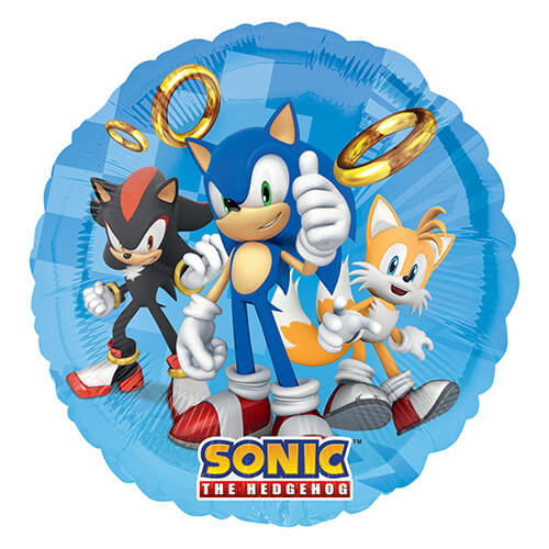 Palloncino Sonic the Hedgehog 45 cm 1 pezzo