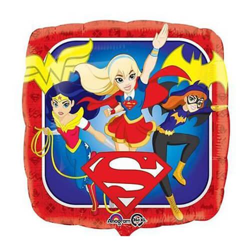 Palloncino DC Super Hero Girls 45 cm 1 pezzo
