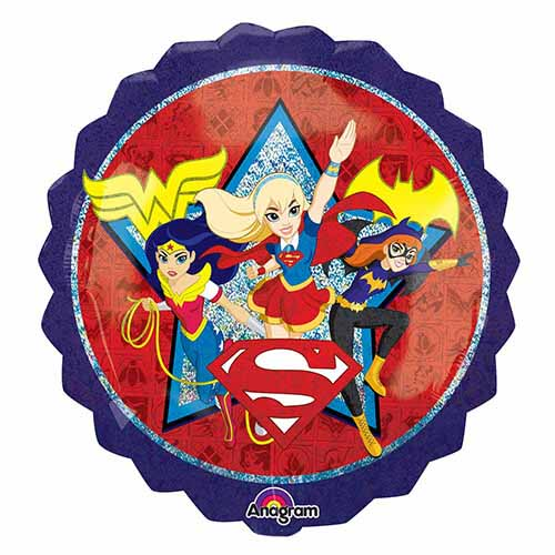 Palloncino DC Super Hero Girl SuperShape 1 pezzo