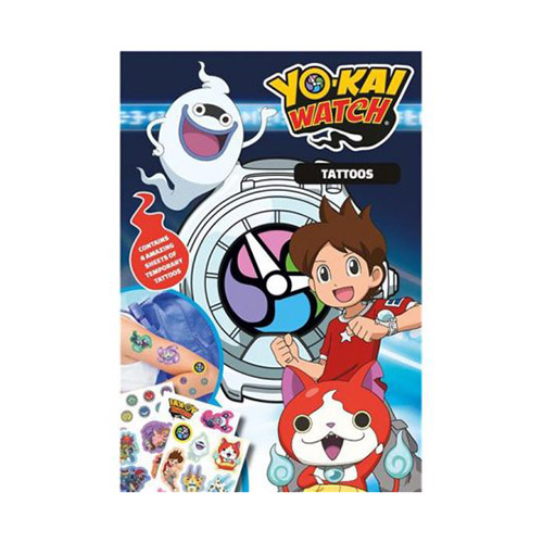 Tattoo Yo-kai Watch 36 pezzi