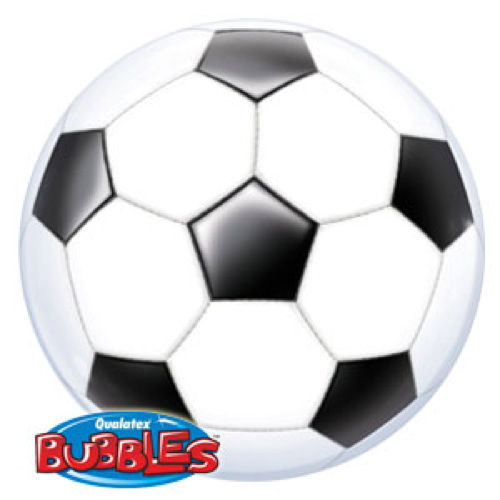 Palloncino palla campionato calcio Bubble 56 cm 1 pezzo