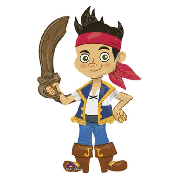 Palloncino Jake e i Pirati mascotte AirWalkers 1 pezzo