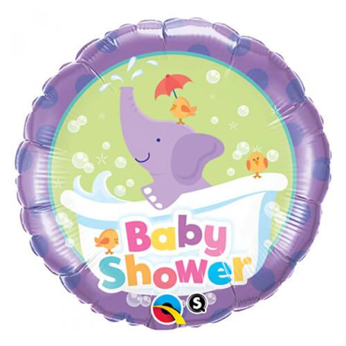 Palloncino elefantino baby shower 45 cm 1 pezzo