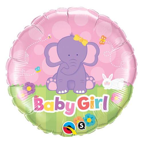 Palloncino elefantino baby girl 45 cm 1 pezzo