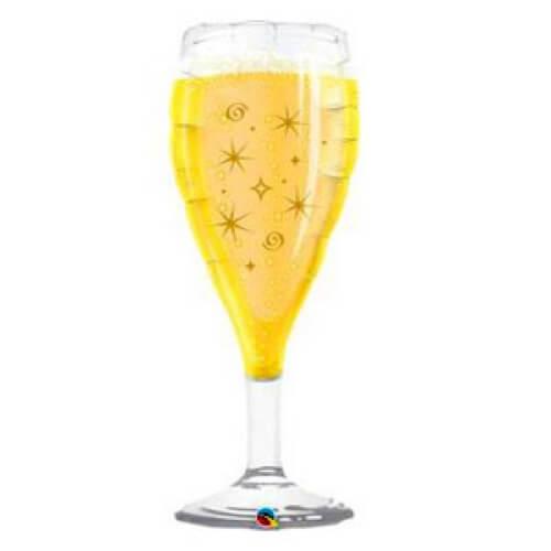 Palloncino calice Champagne UltraShape 1 pezzo