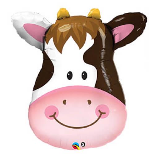 Palloncino mucca smile UltraShape 1 pezzo