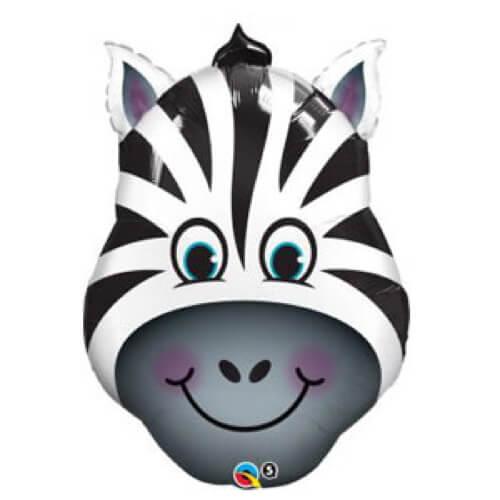 Palloncino zebra smile UltraShape 1 pezzo