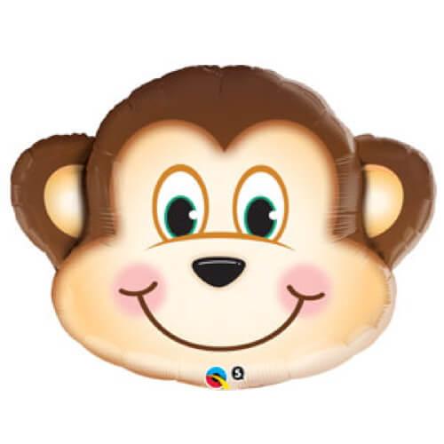 Palloncino scimmietta smile UltraShape 1 pezzo