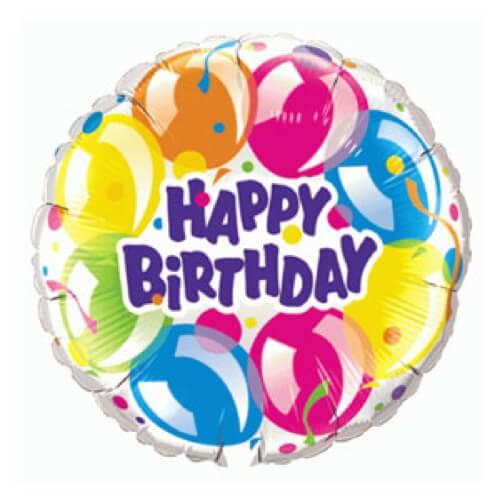 Palloncino balloons compleanno scritta Happy BDay UltraShape 1 pezzo