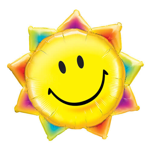 Palloncino sole smile UltraShape 1 pezzo