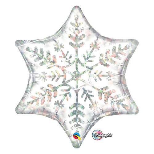 Palloncino stella fiocco di neve UltraShape 1 pezzo