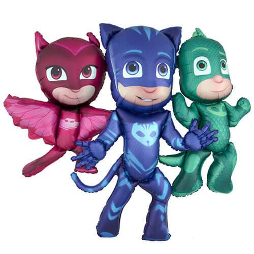 Palloncino Pj Masks Super Pigiamini mascotte AirWalkers 1 pezzo