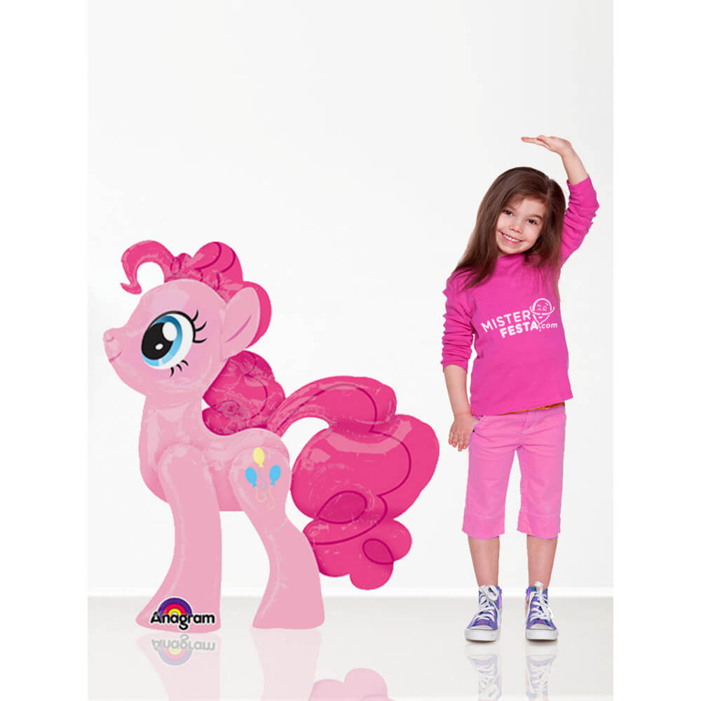 Palloncino Pinkie Pie My Little Pony mascotte AirWalkers 1 pezzo