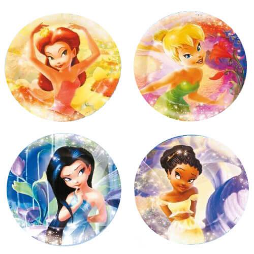 Piatti Trilli Disney Fairies grandi 8 pezzi