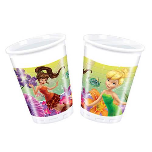 Bicchieri Trilli Disney Fairies 8 pezzi