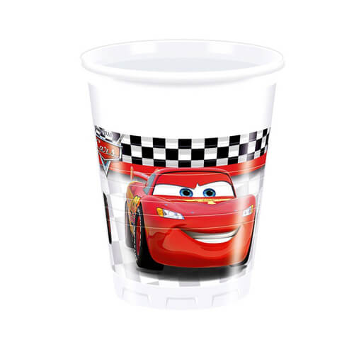 Bicchieri Cars Disney 8 pezzi
