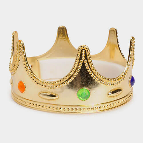 Corona gioiello Re adulto 1 pezzo