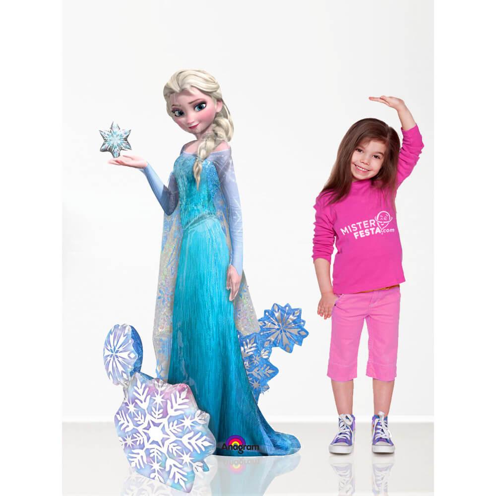 Palloncino Elsa Frozen mascotteAirWalkers 1 pezzo