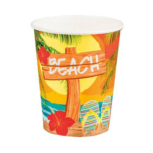 Bicchieri hawaiani 6 pezzi