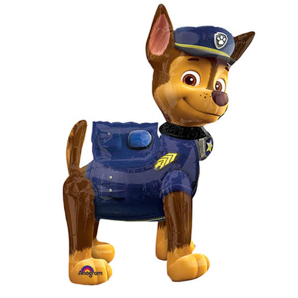 Palloncino Chase Paw Patrol mascotte AirWalkers 1 pezzo