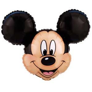 Palloncino testa Topolino Disney SuperShape 1 pezzo
