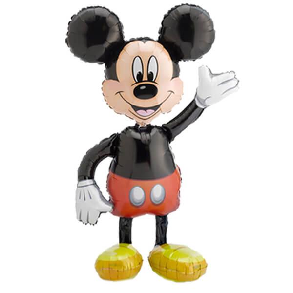 Palloncino Topolino Disney mascotte AirWalkers 1 pezzo