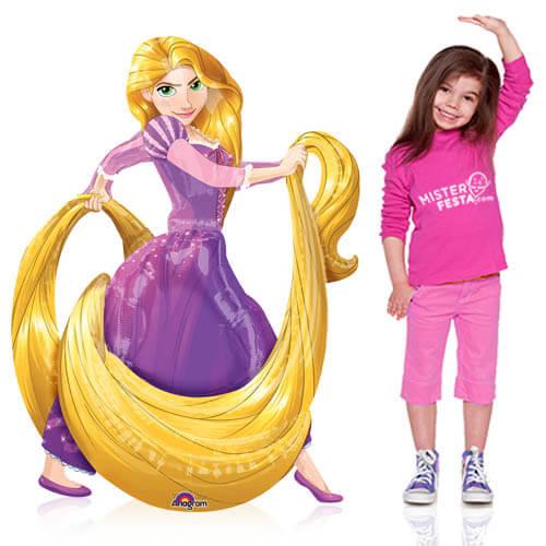 Palloncino Principessa Disney Raperonzolo mascotte AirWalkers 1 pezzo