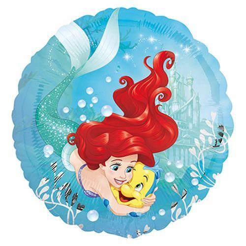 Palloncino Ariel la sirenetta 45 cm 1 pezzo