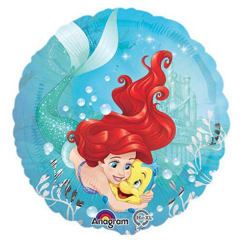 Palloncino Ariel la sirenetta Disney 45 cm 1 pezzo