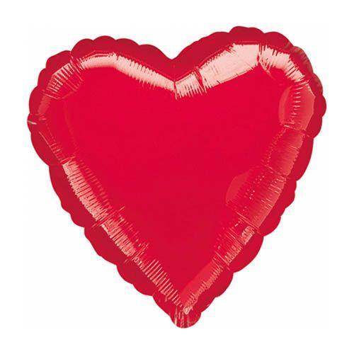 Palloncino cuore rosso 91 cm 1 pezzo