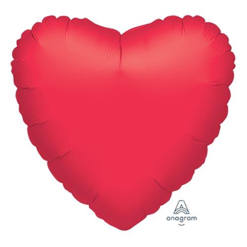 Palloncino cuore rosso UltraShape 1 pezzo