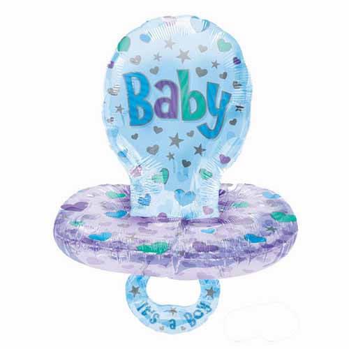 Palloncino ciuccio bambino Baby Boy Multi-Balloon 1 pezzo