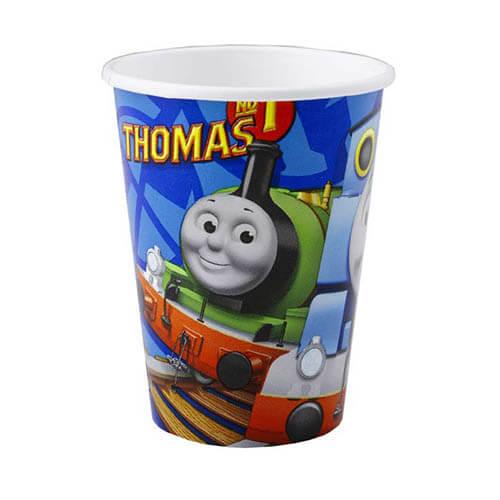 Bicchieri trenino Thomas 8 pezzi
