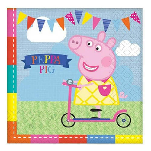 Tovaglioli Peppa Pig 16 pezzi