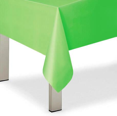 Tovaglia verde lime 1 pezzo