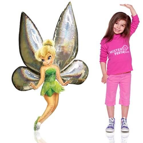 Palloncino Trilli Disney Fairies mascotte AirWalkers 1 pezzo