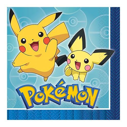 Tovaglioli Pokémon 16 pezzi